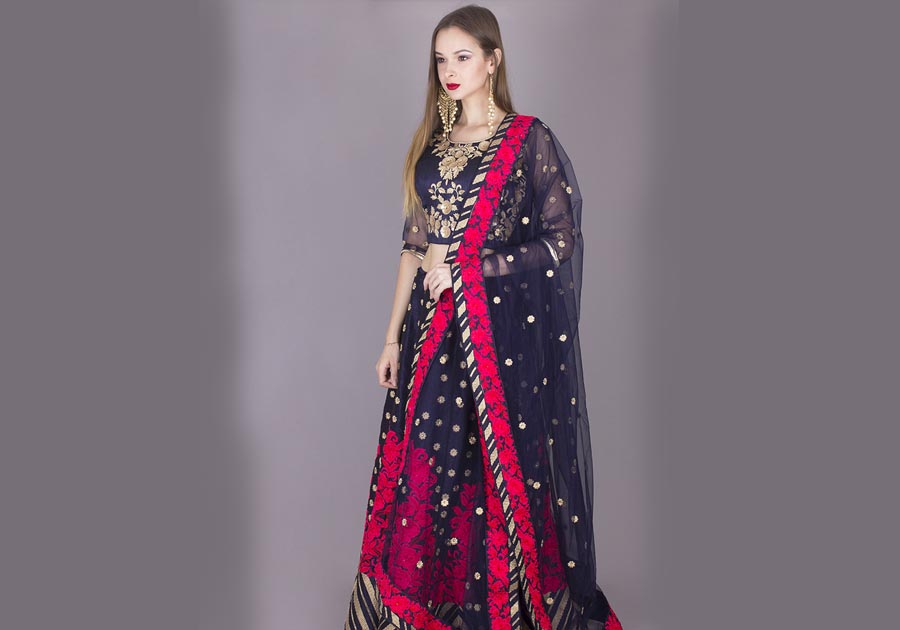 Saree Ecommerce Photography